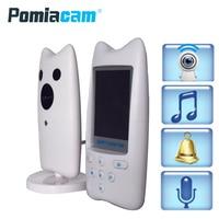 WB820 Wireless Monitor Night Vision Digital Video Baby Monitor Audio Music Camera Temperature Temperatering Nanny Monitor