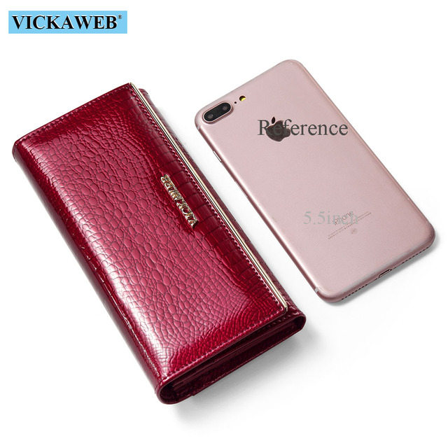 Women Wallets Brand Design High Quality Leather Wallet Female Hasp Fashion Dollar Price Alligator Long Women Wallets And Purses 4