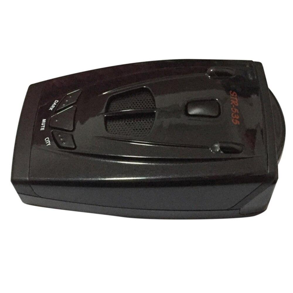 Professional Black Portable Car Detector Multi-language Anti-radar Detector Alarm System Car Radar Laser Detector Hot Selling