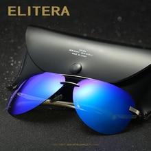 ELITERA New Polarized Sunglasses Men Driver Mirror Sun glasses Male Driving Fishing Female Outdoor Sports Eyewear For Men