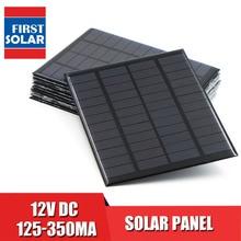 Panneau solaire 12V Mini système solaire bricolage pour batterie chargeurs de téléphone Portable cellule solaire 1.5W 1.8W 1.92W 2W 2.5W 3W 4.2W
