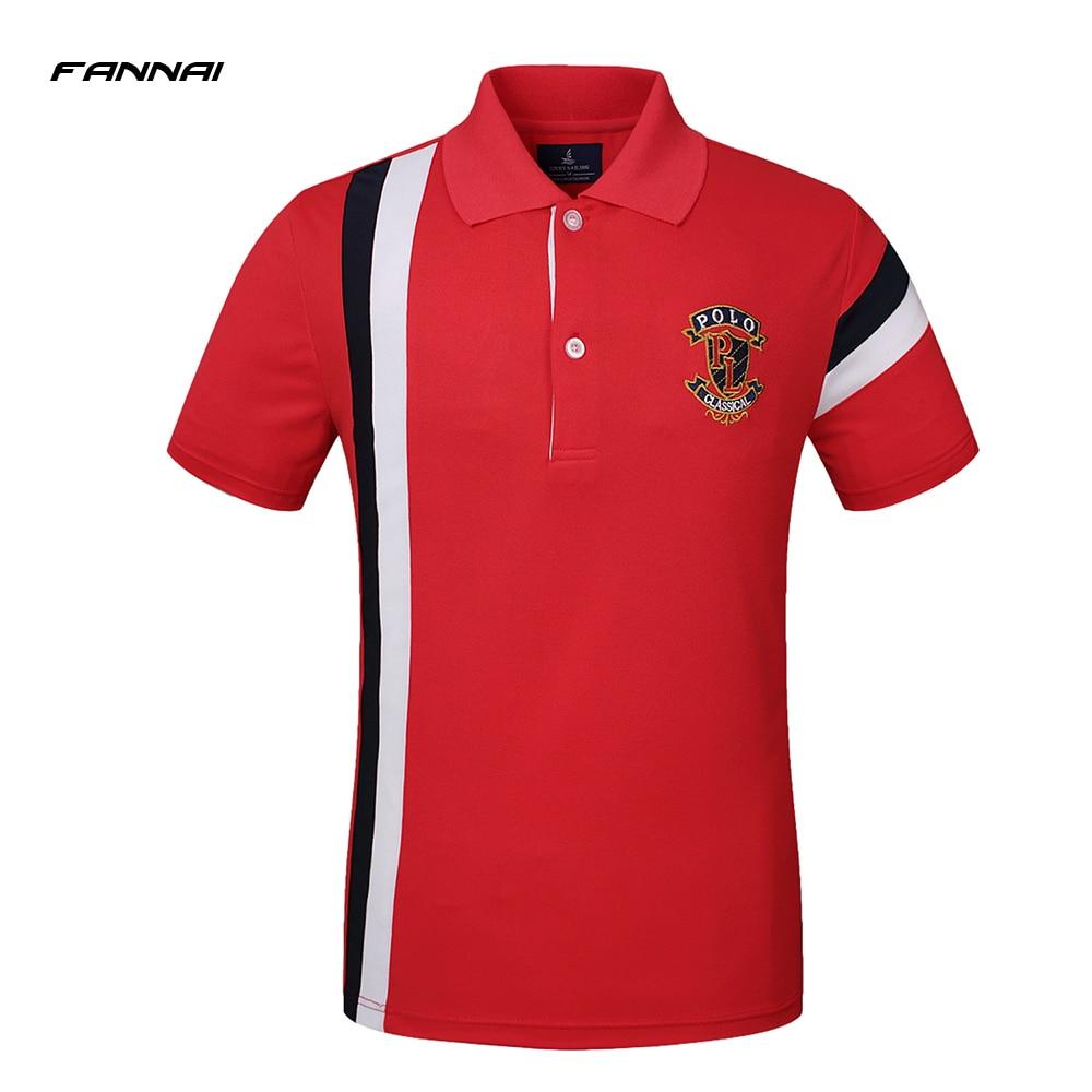 d1a5357b1fef Dropwow High Quality Brand Summer Short Sleeve Polo Shirt Man ...