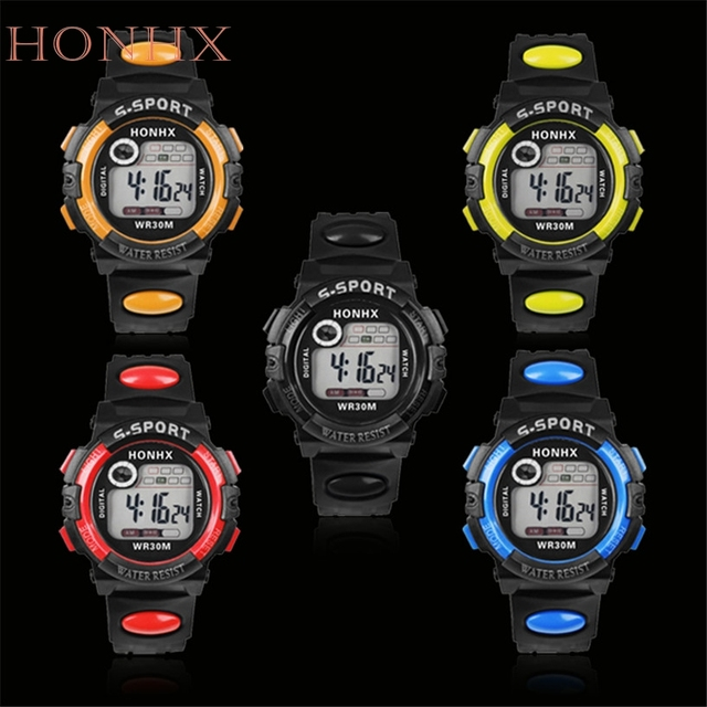 HONHXFabulous Rainbow Crystal Rhinestone Watch Silicone Jelly Link Band wholesal
