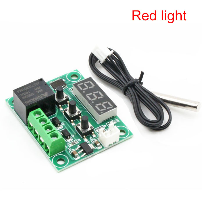 W1209 High Precision Temperature Controller Switch LED Digital Display Board