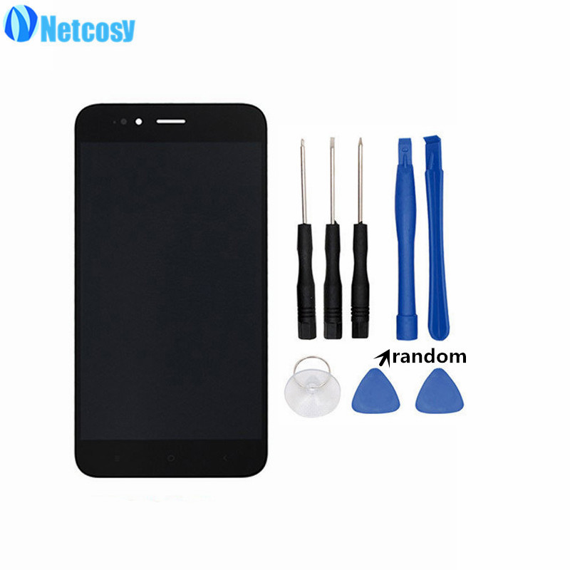 Netcosy For Xiaomi Mi A1 LCD Display+Touch screen digitizer Assembly Replacement parts For Xiaomi MiA1 Mi5X LCD screen & ToolsNetcosy For Xiaomi Mi A1 LCD Display+Touch screen digitizer Assembly Replacement parts For Xiaomi MiA1 Mi5X LCD screen & Tools