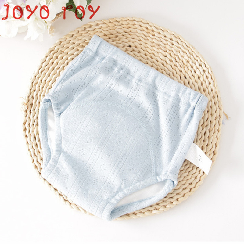 Joyo Roy Unisex Baby Solid Soft Cloth Diapers Children Children' Diaper Pants Cotton Baby Training Pants Dwq029R