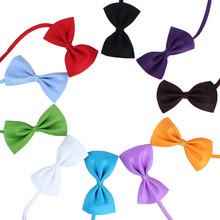 10 pcs acessórios de moda pet colorido bow tie pet cat grooming cães bowtie collar decoração do feriado do natal de casamento(China (Mainland))