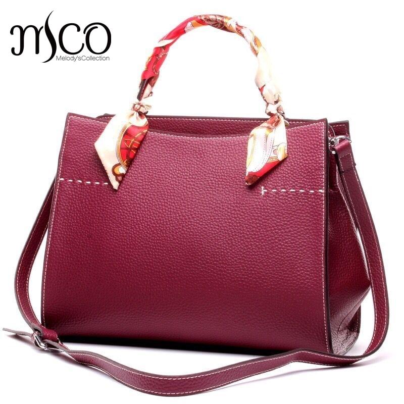 ФОТО Tote Bag Luxury Women Genuine Leather Bags Ladies Real Leather Designer Handbags High Quality Female Cross Body Shoulder Bag