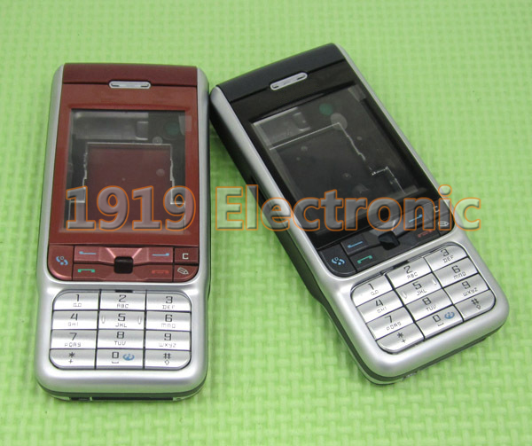 Case Mobile-Phone-Housing-Cover Tain Nokia 3230 New Or English Russian-Keypad Full-Complete