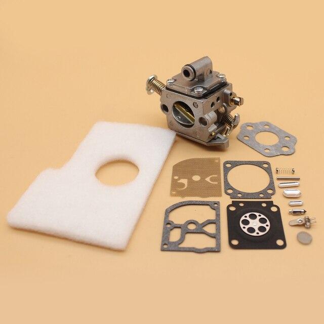 المكربن فلتر الهواء إصلاح إعادة بناء عدة ل STIHL MS170 MS180 MS 170 180 017 018 بالمنشار Zama C1Q S57B ، 1130 120 0603