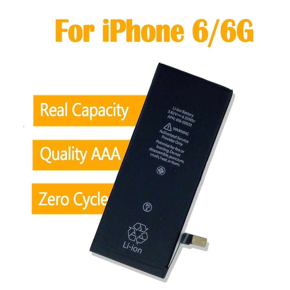 1pcs 0 zero cycle OEM Battery For iPhone 6 6G 1810mAh 3.82V
