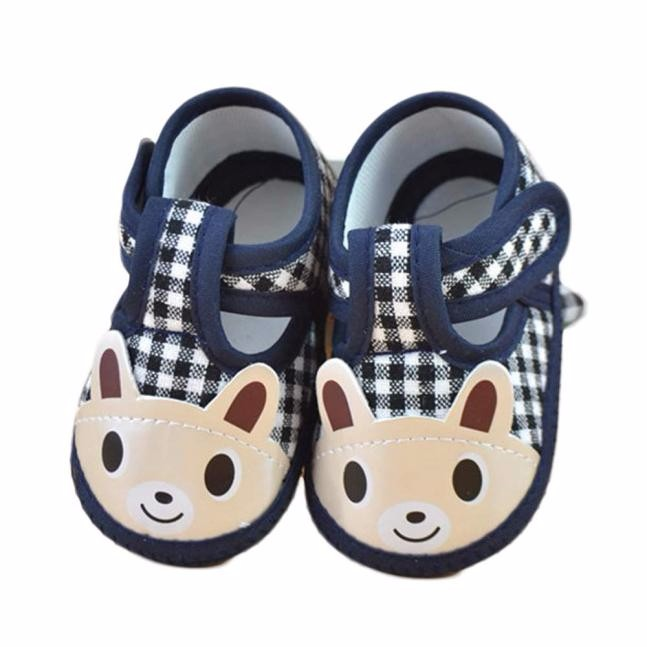 Baby Shoes Blue monkey Shoes for kids Fashion Newborn Baby Girl Boy Soft Sole Crib Toddler Shoes Canvas Sneaker