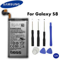 Samsung batería Original para Samsung Galaxy S8 SM-G9508 G950F G950A G950T G950U G950V G950S 3000 mAh EB-BG950ABE, las baterías de teléfonos móviles