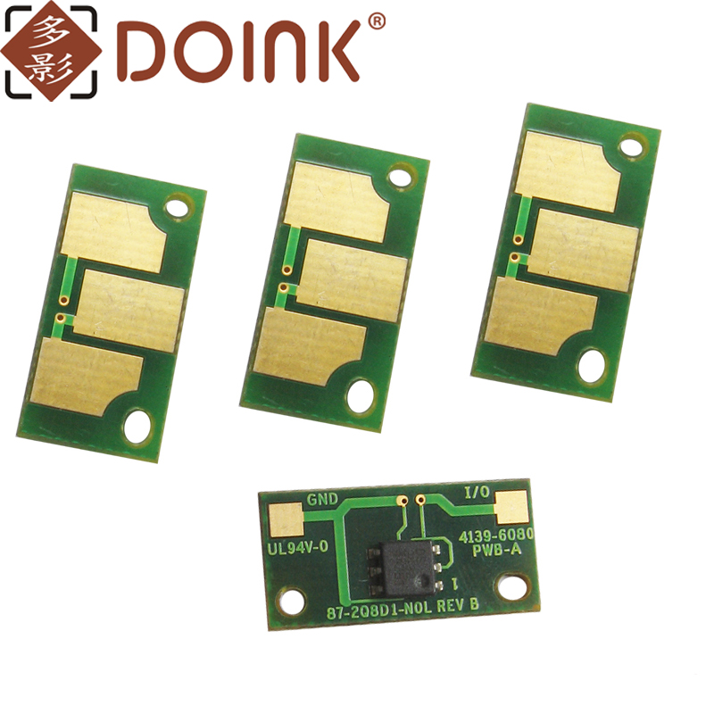 40pcs FOR Minolta bizhub C451 C550 C650 Toner chip TN611 CHIP worldwide version TN 611 CHIP