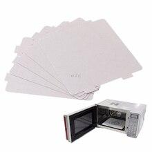 5Pcs Mica Platten Blätter Mikrowelle Reparatur Teil 108x99mm Küche Für Midea
