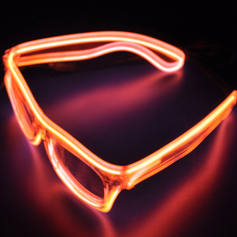 Color Random Glow Fluorescence Glasses LED Glasses Light Luminous Sticks Party Flashing Novelty Toy