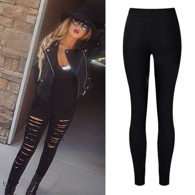 Aliexpress.com : Buy Jeans For women Boyfriend Pencil Skinny Jeans ...