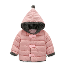 Baby Girls Clothes,Children Winter long sleeve Warm Jacket & Outwear,Girls Cotton-padded Outwear Baby Girls Coat  for Christmas