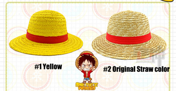 Anime One Piece Luffy Cosplay Straw Hat Boater Beach