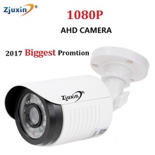 1PC Zjuxin ahd camera 1080p 5*24 LED ahd 2mp camera with HD 3.6mm 1080p ahd camera lens and hd security CCTV Cam for you