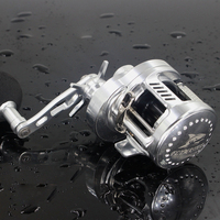 Rover Drum Saltwater Fishing Reel Pesca 6.2:1 9+1BB Baitcasting Saltwater Sea Fishing Reels Bait Casting Surfcasting Drum Reel