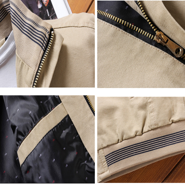 Men's Casual Jackets Stand Collar