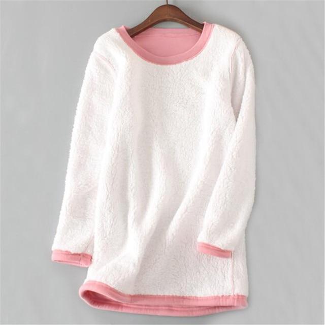 2019 Velvet T Shirt Autumn Winter  2