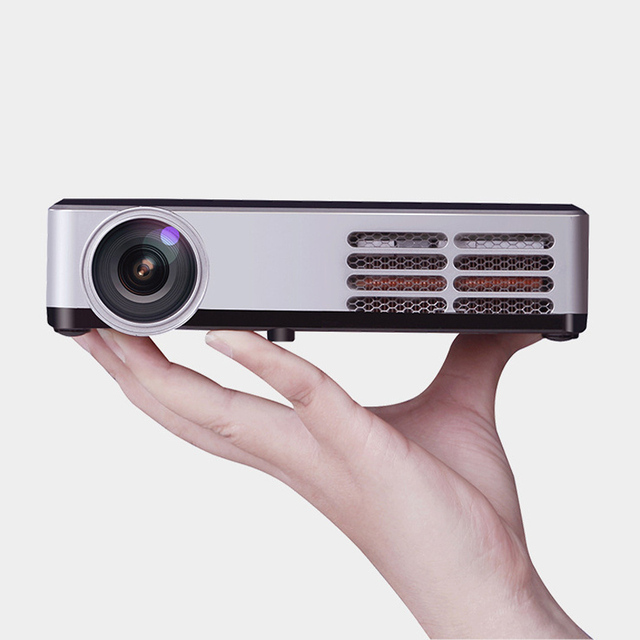 WZATCO 900W Android Bluetooth WiFi AirPlay Miracast 1080P Portable LED DLP Active 3D Projector HD Home Theater Proyector Beame
