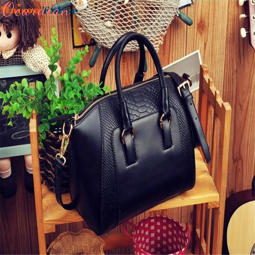 Ocardian 1PC Women Shoulder Bag Faux Leather Satchel Cross Body Tote Handbag ...