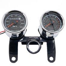 Спидометр 12 в 0-180 км/ч светодиодный Универсальный Тахометр для мотоциклистов с подставкой
