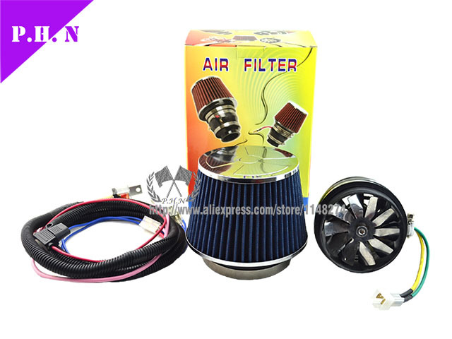 New Arrival High Flow Turbo Electric Supercharger Turbocharger Air Intake In Intakes From Automobiles Motorcycles On Aliexpress