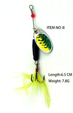 Mepps HOT NEW 2017 Spinner Spoon macro tiger good  Lure Spinner bait Metal Hard FISHING Lure bass panfish trout
