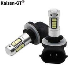 Kaizen H27 880 881 Led Bulb For Cars H27W/2 H27W2 Auto Fog Light DRL 780Lm 12V 881 LED Bulbs Driving Daytime Running Light,12V