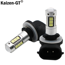 Kaizen H27 880 881 Led Bulb For Cars H27W/2 H27W2 Auto Fog Light DRL 780Lm 12V 881 LED Bulbs Driving Daytime Running Light,12V