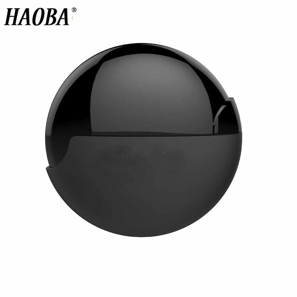 HAOBA Earphone Storage Box Matte Earphone Winder Case Headphone Portable Storage Case Bag Headphone Accessories For iphone