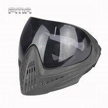FMA внешний спортивный страйкбол тактические очки лыжные охотничьи безопасные противотуманные защитные очки полная маска для лица с черными линзами FM-0022