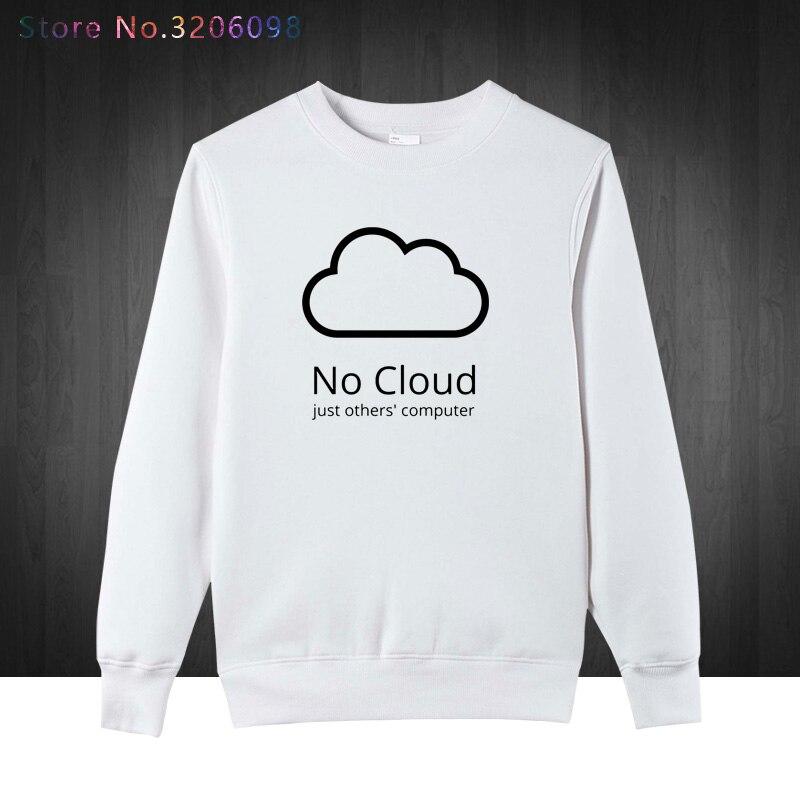 Computer Cloud pullover Creative Man Cotton winter autumn Style sweatshirts New Casual Funny Geeks hoodies men sweatshirt Boys