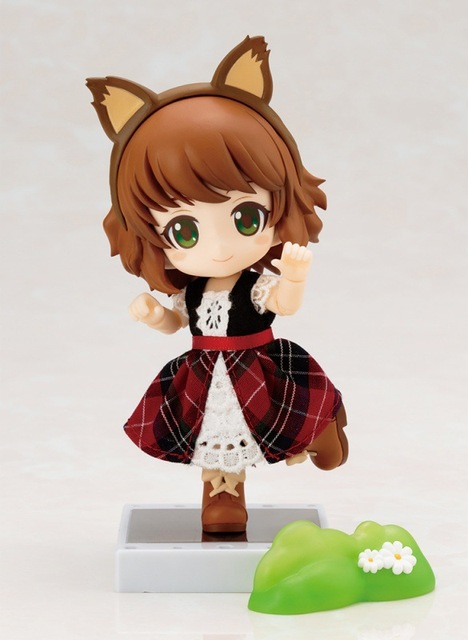 Nendoroid Cute Little Red Riding Hood Variant Mini Action Figure Real Clothes Ver. PVC figure Toy Brinquedos Anime 10CM 4