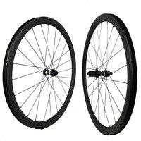 carbon wheels Center lock 35 38 45mm 50mm 60mm 88mm clincher/tubular cyclocross road wheelset Disc brake D791/DT 350S 240S QR/TA