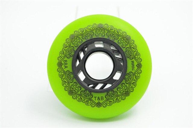 4 pcs/lot 88A Slide Inline Skates Wheel for SEBA HV High WFSC KSJ for Powerslide for RB Sliding Brake Drift Wheels