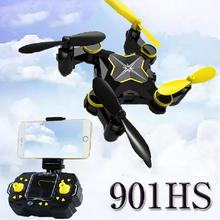 901HS Mini Wifi RC Drone HD Camera Remote Control Kids Toys 360 Rolling 2.4G 6Axis RC Quadcopter Helicopter Aircraft Plane Toy