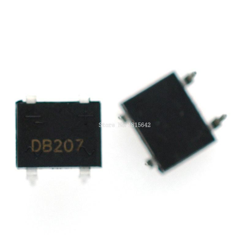 20PCS/LOT DB207 DIP B207 DB207S DIP4 Bridge Rectifiers 1000V 2A