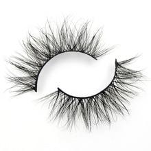Visofree Mink Wimpers 100% Wreedheid gratis Handgemaakte 3D Nertsen Wimpers Volledige Strip Wimpers Soft Valse Wimpers Make Lashes E12