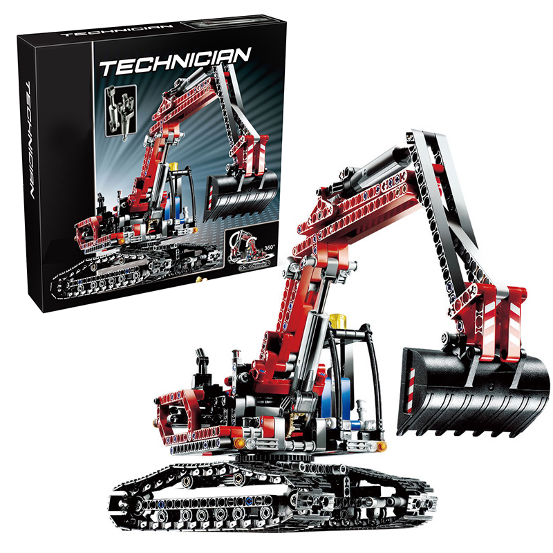 Lepin 20025 Excavator building bricks blocks Toys for children boys Game Model Gift Compatible with Bela 8294 hot sembo block compatible lepin architecture city building blocks led light bricks apple flagship store toys for children gift