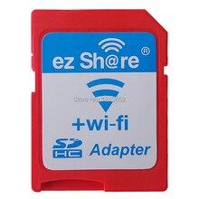 Ez compartir ezshare sd micro casos de adaptador wifi inalámbrica 16g 32G tarjeta de memoria MicroSD caseTF adaptador WiFi tarjeta SD libre paseo