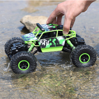 Toy Four wheel Steering Remote controlled Cross country Climbing Car for kids 2018 hot sale High speed Big Truck 2.4G Drift Toy