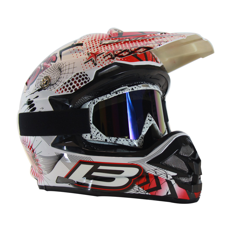 Motorcycles Accessories Parts Protective <font><b>Gears</b></font> Cross country helmet bicycle racing motocross downhill bike helmet Gift goggles