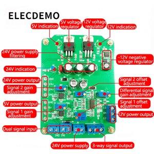 Image 2 - Ad620 모듈 고 이득 계측 증폭기 ad620 송신기 전압 증폭기 모듈 이중 차동 출력