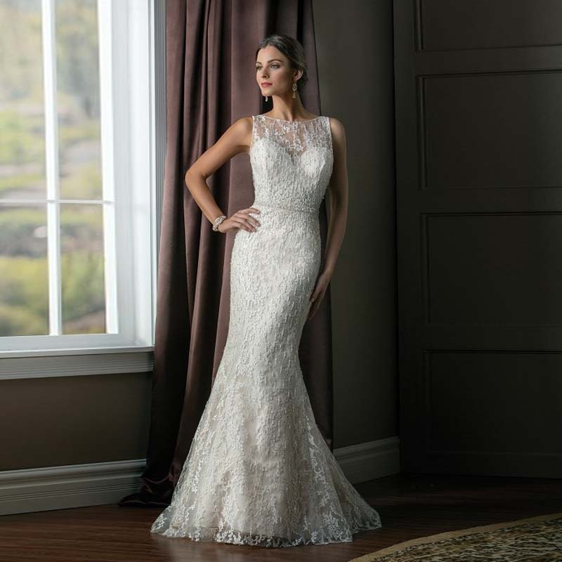 Fancy Mermaid Wedding Dresses Vintage Wedding Dress 2016