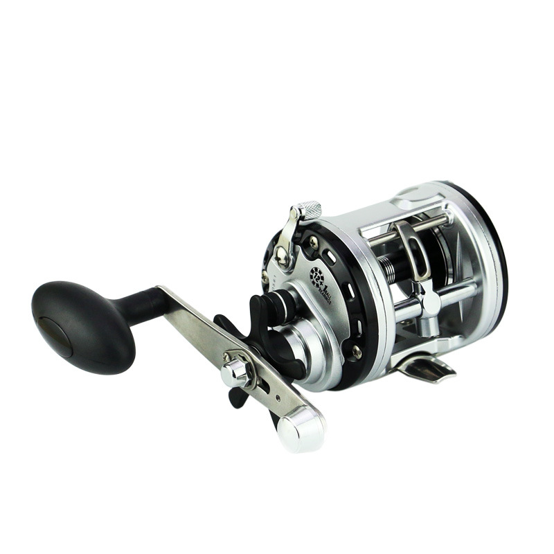 Max Drag Boat Fishing Reel Right Handle optional Lure Fishing Reel 12+1BB Bait Casting drum wheel coil tackle For Bass new 12bb left right handle drum saltwater fishing reel baitcasting saltwater sea fishing reels bait casting cast drum wheel